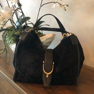 Gucci suede handbag!